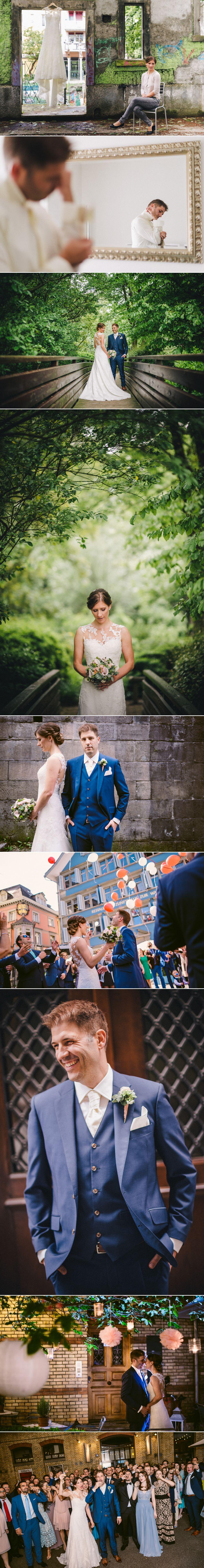 Hochzeit @ zur Waag und @ Blaue Ente in Zürich