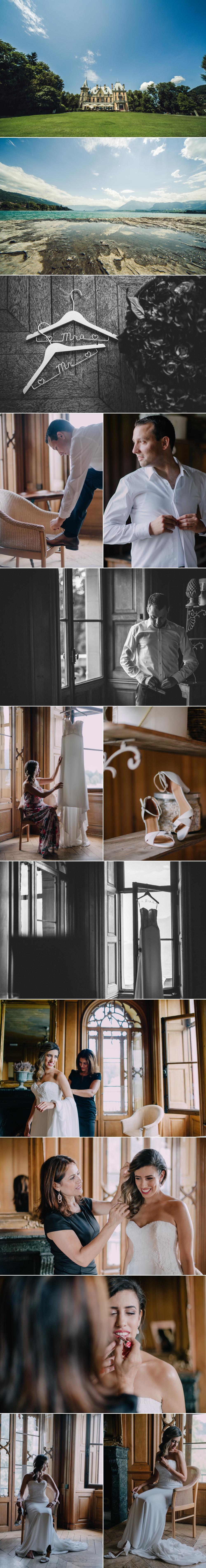 Hochzeitsfotograf Zurich, Schloss Schadau
