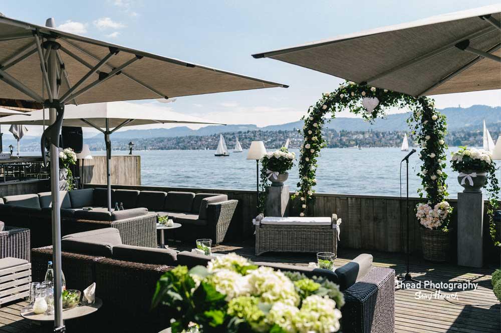 Auf der anderen Seeseite aber noch in der Stadt Zürich befindet sich dieses sehr saubere und gut unterhaltene Lokal.