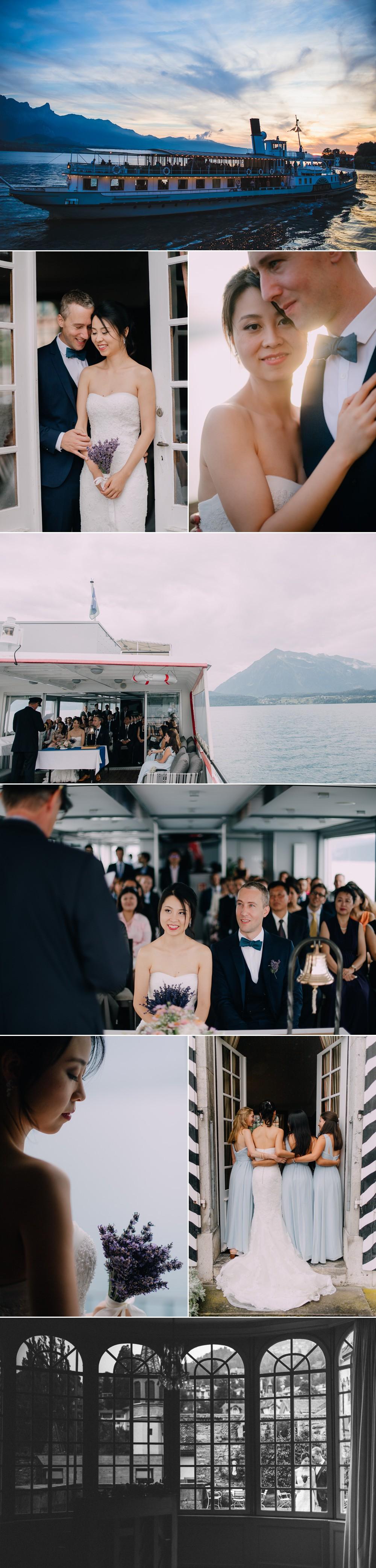 Hochzeit @ lake Thun